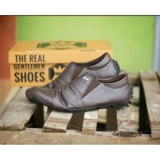 Cuci Gudang Kerak Store Avail Sepatu Slop Slip On Pria Lasco Coklat