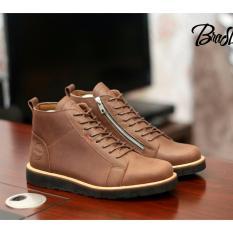 Tips Beli Kerak Store Sepatu Boots Kulit Asli Pria Bradley S Original Bradley S Baldev Coklat Yang Bagus