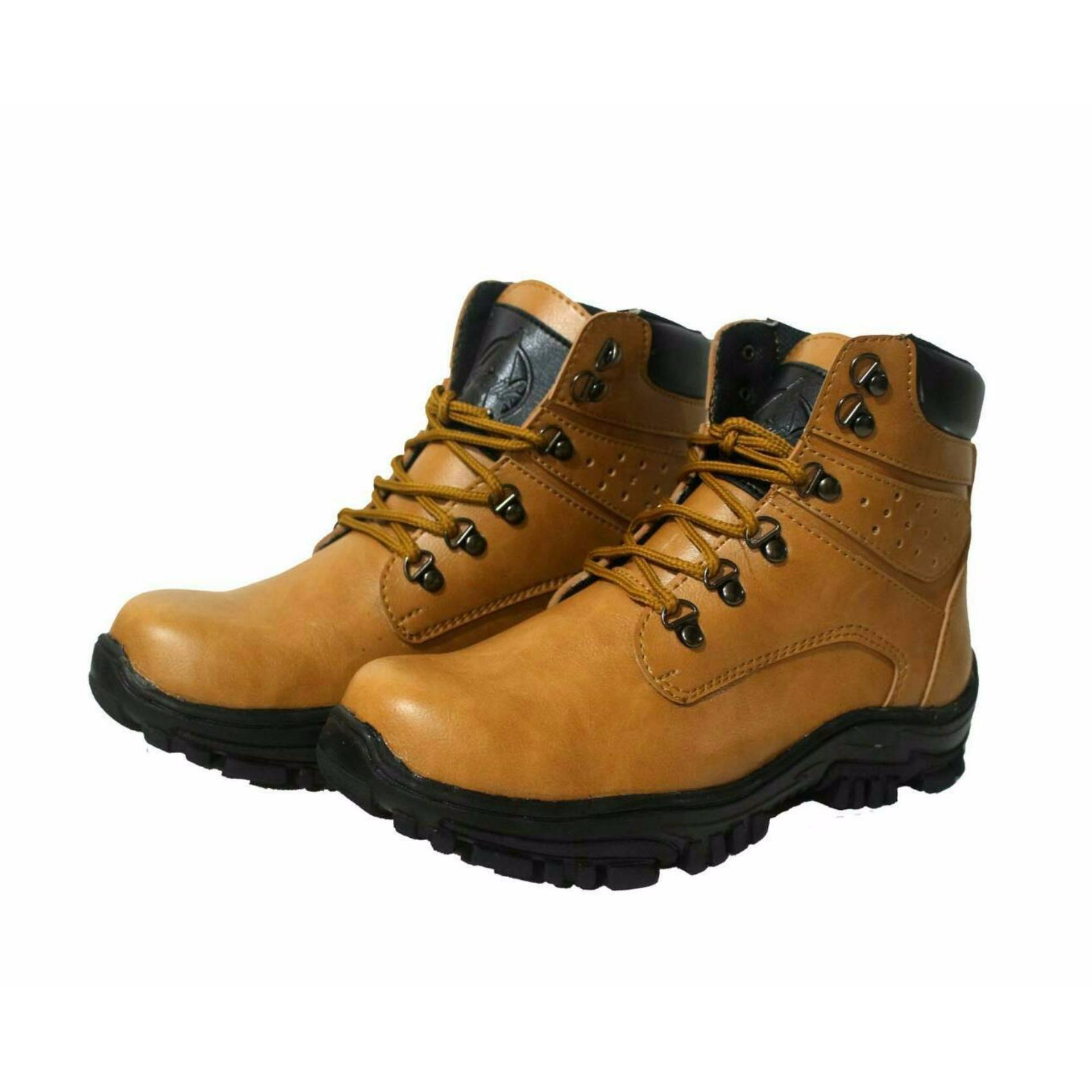 Sepatu Formal Boots Pantofel Pria Untuk Kerja dan Kantor Kulit Sintetis KERAK STORE Sepatu Boots Safety