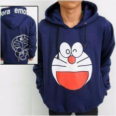 Toko Jual Kerak Store Sweater Doraemon Sweater Hodie Zipper Navy