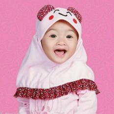 Kerudung Anak Bayi emotion   / Jilbab Anak Bayi / Jilbab Bayi / Hijab Pashmina Instan Anak