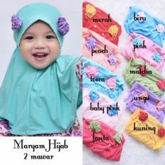 Kerudung Anak Bayi Maryam / Jilbab Anak Bayi / Jilbab Bayi / Hijab Pashmina Instan Anak