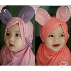 Kerudung Anak Bayi miki poni / Jilbab Anak Bayi / Jilbab Bayi / Hijab Pashmina Instan Anak
