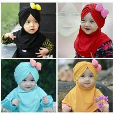 Rp 19.000. Kerudung Anak Bayi pita tebal / Jilbab Anak Bayi / Jilbab Bayi / Hijab Pashmina Instan AnakIDR19000
