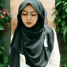 Kerudung Hijab Amira Instan Hitam