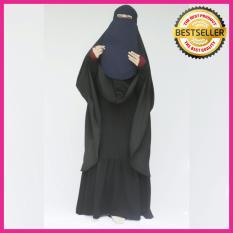 Cara Beli Kerudung Hijab Jilbab Instan Instant Khimar Syari Jumbo Cadar Hitam