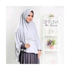 kerudung hijab jilbab instan khimar syari polos SIMPLINA