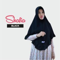 Kerudung Hijab Syari Terbaru Khimar Shafia/ Black