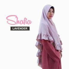 Kerudung Hijab Syari Terbaru Khimar Shafia/ Lavender