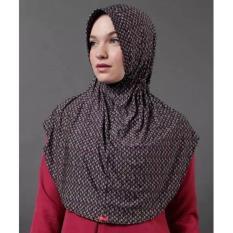 Kerudung Instan Casual Wanita Muslim Husna Flowery by Zoya