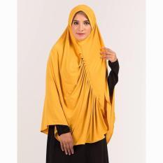Kerudung Jilbab Hijab Instan Bergo Warna Kuning Emas GF GRK 9206