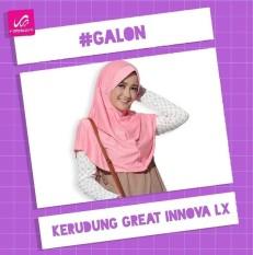Kerudung / Jilbab Rabbani Great Innova LX ( Size L )