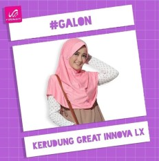 Kerudung / Jilbab Rabbani Great Innova LX ( Size S)