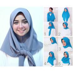 Kerudung Paris Instan - Jilbab Hijab Instan - Hijab Salsa Segiempat Instan
