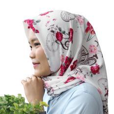 Kerudung Segi Empat - Square Hijab Monalisa - SepedaIDR49900. Rp 49.999.