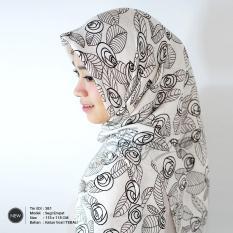 Kerudung segiempat motif corak / jilbab motif / Tiung Mode / TM-381