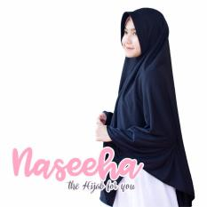 Kerudung syari polos Instan Naseeha - jilbab syari