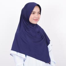 Kerudung Zoya Jilbab Instan - Kalila Filia Navy