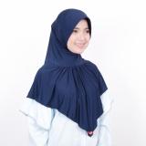 Spesifikasi Kerudung Zoya Jilbab Instan Kalila Nalanie Navy Dan Harganya