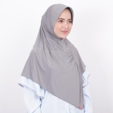 Jual Kerudung Zoya Jilbab Instan Kalila Filia Silver Grey Zoya Asli