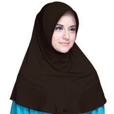 Kerudung Zoya - Marsha HX Casual warna Dark Brown