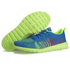 Jual Beli Keta Sepatu 181 Airmax Running Outdoor Olahraga 01 Series Biru Hijau Di Dki Jakarta