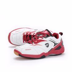 KETA Sepatu Bulutangkis / Badminton / Olahraga KETA 115 - Putih Merah