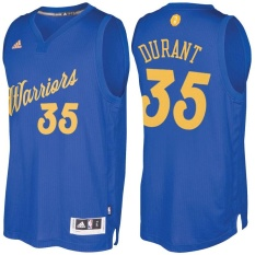 Kevin Durant #35 Men's Blue NBA Basketball Jersey KD Fans Royal Sports Golden State Warriors Authentic (S-XXL) - intl
