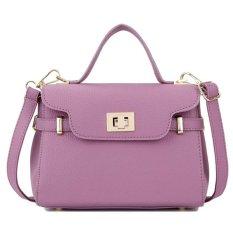 Kgs Tas Casual Kerja Wanita Classic Signature Mini Sling Bag Ungu Asli