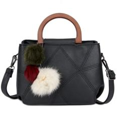 Spesifikasi Kgs Tas Casual Wanita Crossing Stitches Mini Handbag Hitam Beserta Harganya