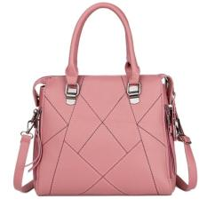 KGS Tas Casual Wanita Stitches Medium Tote Bag - Pink