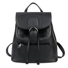 Ulasan Lengkap Kgs Tas Ransel Mini Backpack Wanita Casual Buckled Flap Hitam