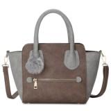 Harga Kgs Tas Selempang Wanita Impor Casual Mini Trapeze Fur Tassel Handbag Khaki Kgs Online