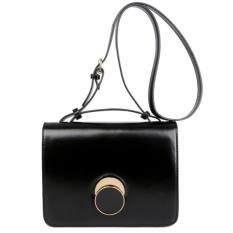 Toko Kgs Tas Selempang Wanita Impor Mini Casual Formal Elegant Lock Sling Bag Hitam Terlengkap