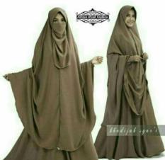 Khadijah Syari Gamis Muslimah Oem Diskon 50