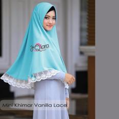 Harga Khimar Mini Vanilla Lace Tosca Seken