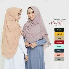 Khimar/Bergo/Hijab Instan Aisyah Serut