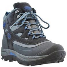 Khombu Mens Armada Hiker Medan Cuaca Rated Musim Dingin Boots Snow Gray/Biru-Intl