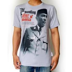 Harga Ki Rangan Kaos Soekarno K Hitam Merk Kirangan