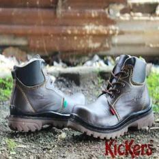 Kickers Boots Gordon Safety (Safety Shoes) - Sepatu Kantor Kerja - Sepatu Kerja Lapangan - Sepatu Kerja Pria - Ujung Besi Di Sepatu