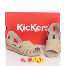 Kickers Cream Wedges Kode 013 - KW