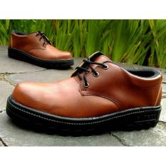 Kickers Low Safety Brown