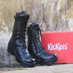 Kickers PDL Safety Pria Terbaru Sepatu Tracking Boot Gunung Adventure