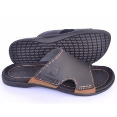 Penawaran Istimewa Kickers Sandal Slip Pria Sandal Pria Slip On Slippers Sandal Slip 333 Hitam Terbaru