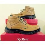 Spesifikasi Kickers Sepatu Boots Kulit Asli Model Kr 078 Coklat Murah