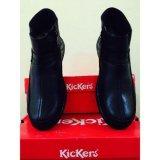 Kickers Sepatu Pria Kulit Asli Model Kr 0078 Hitam Promo Beli 1 Gratis 1