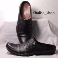 Kickers Sepatu Sandal Pria Kulit Asli Model KR 730 Black