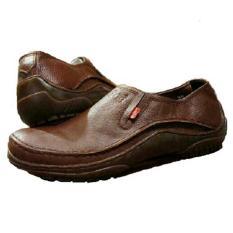 Kickers Sepatu Slip on Boots Pria Kulit Asli Model KC 065 KPY - Kulit Jeruk