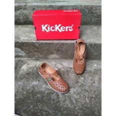 Jual Kickers Woman Old Brown Kickers