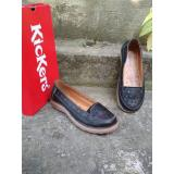 Harga Kickers Women Flat Full Black Origin